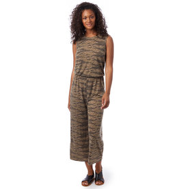 Alternative Apparel Harper S/L Cropped Jumpsuit