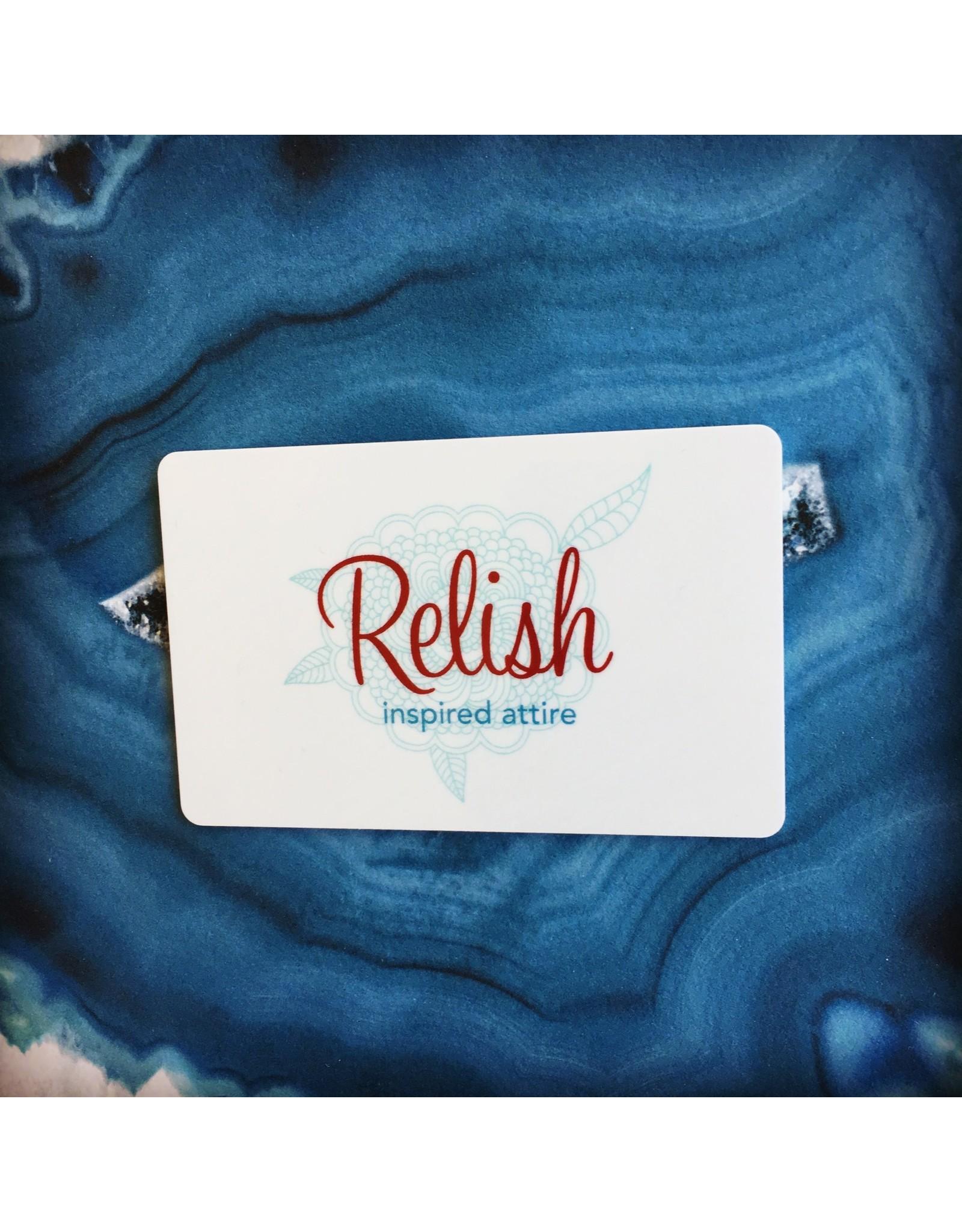 Relish Gift Card