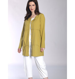 Fenini Button Down Tunic Top