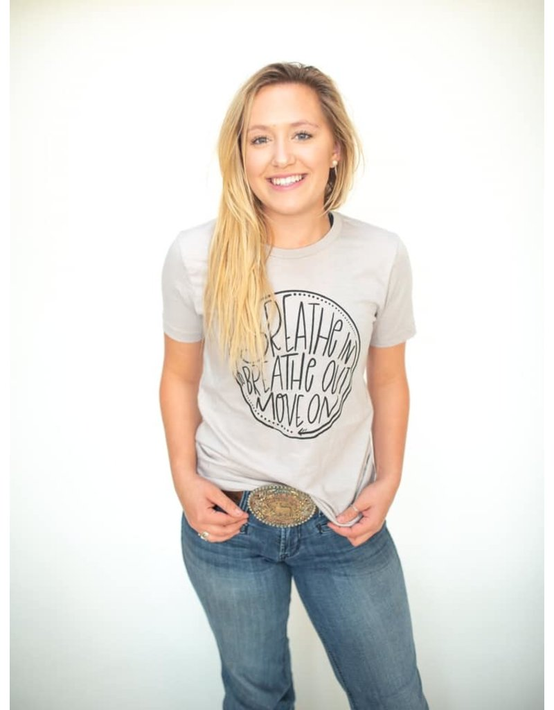 Relish Breathe In Breathe Out Tee