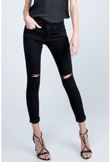 Relish Skinny Ankle Distressed Knee Jeans