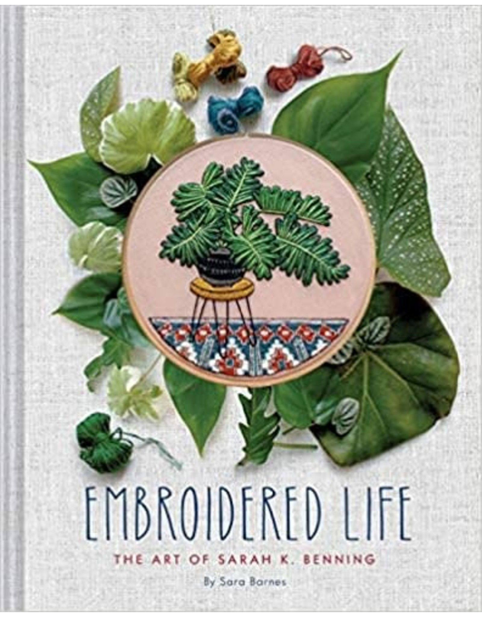 Chronicle Books Embroidered Life