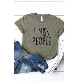 Relish I Miss People Graphic Tee