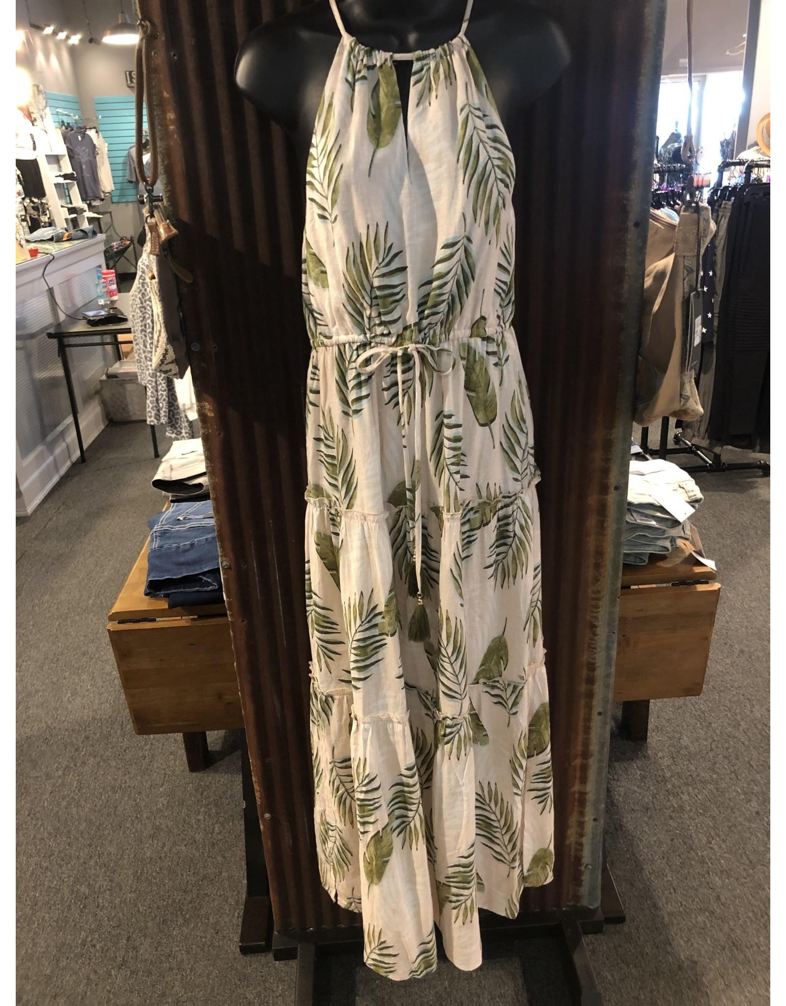 Relish Halter Maxi Dress