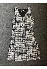 Neesha Burnout Smocked Button Dress