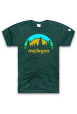 The Mitten State Michigan Outdoors Unisex