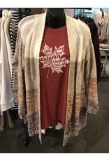 Relish Multi Wide Stripe Cardigan