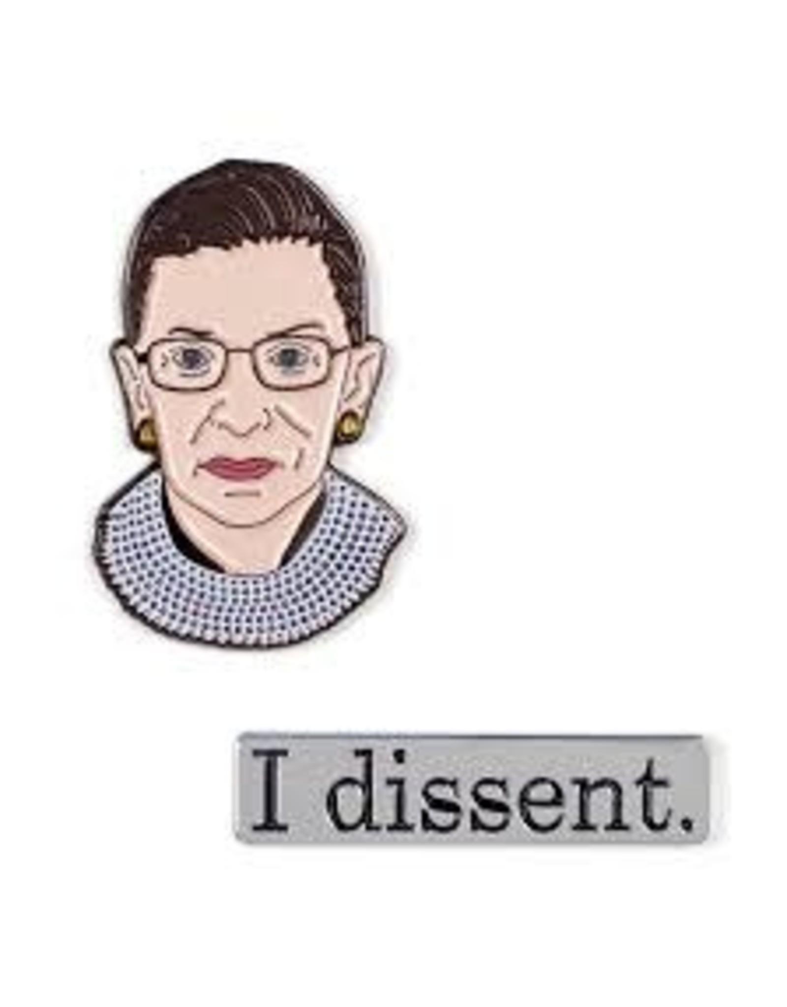 Relish RBG I Dissent Pins