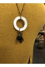 Notion Circle Hand Necklace