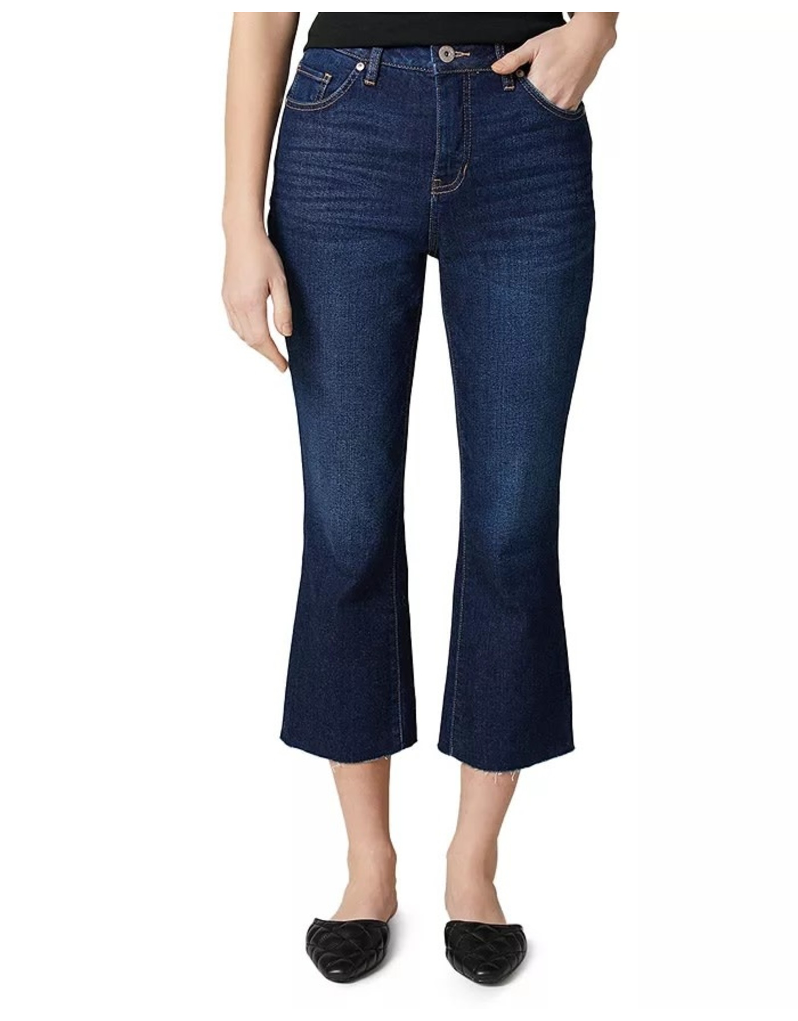 Jag Mia High Rise Crop Boot Leg Jeans