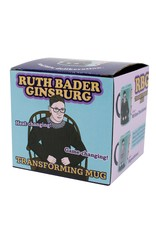 The Unemployed Philosphers Guild Ruth Bader Ginsburg Transforming Mug