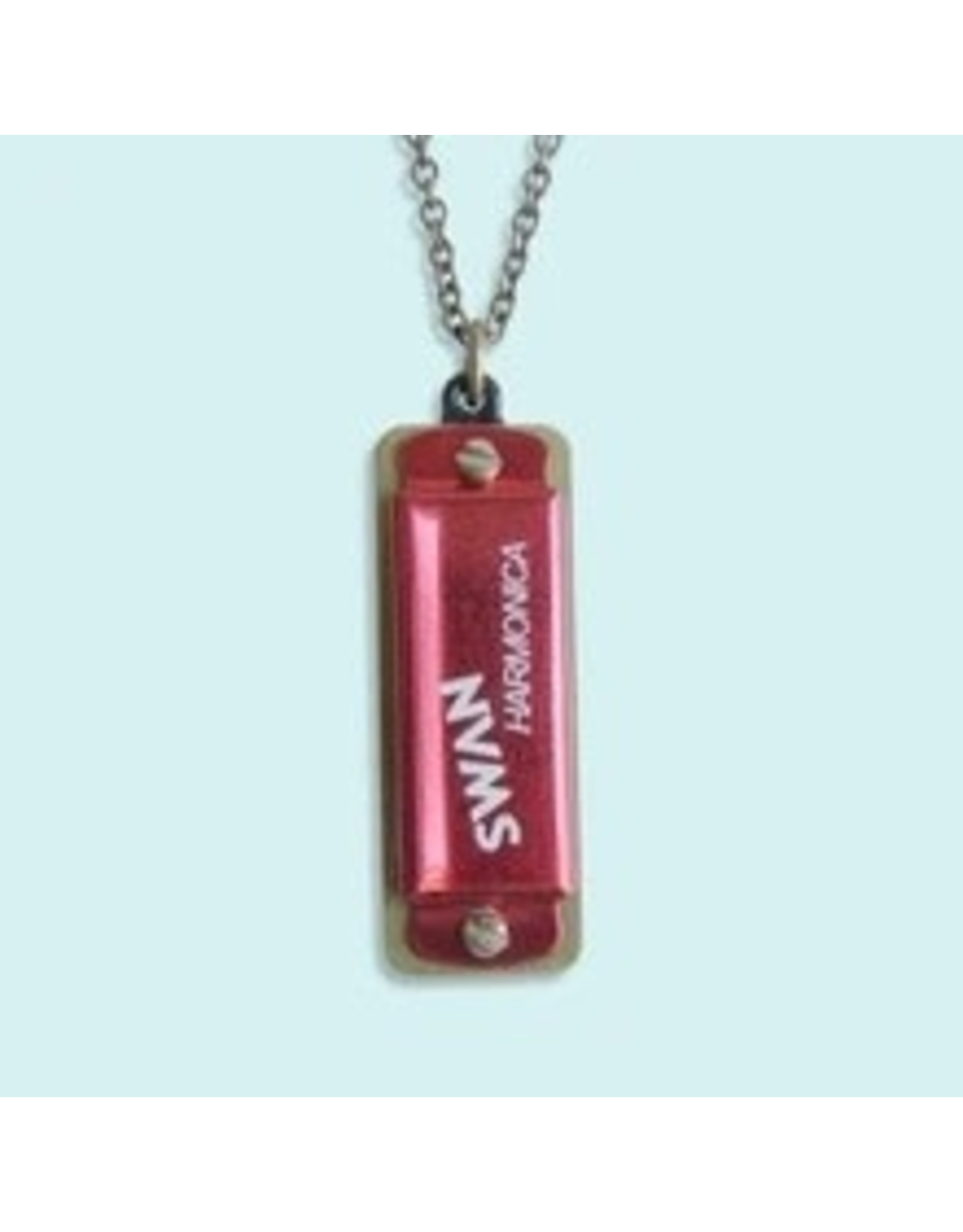 Relish Red Harmonica Necklace