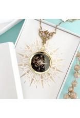 Relish Filigree Compass Necklace
