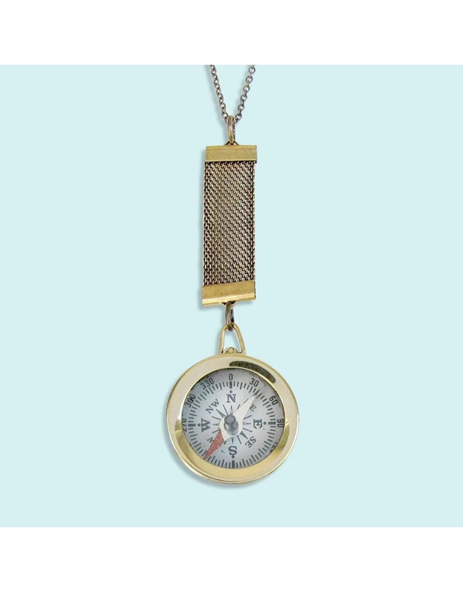 Relish Small Compass Necklace