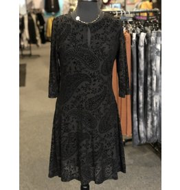 Papillon Paisley Overlay Dress