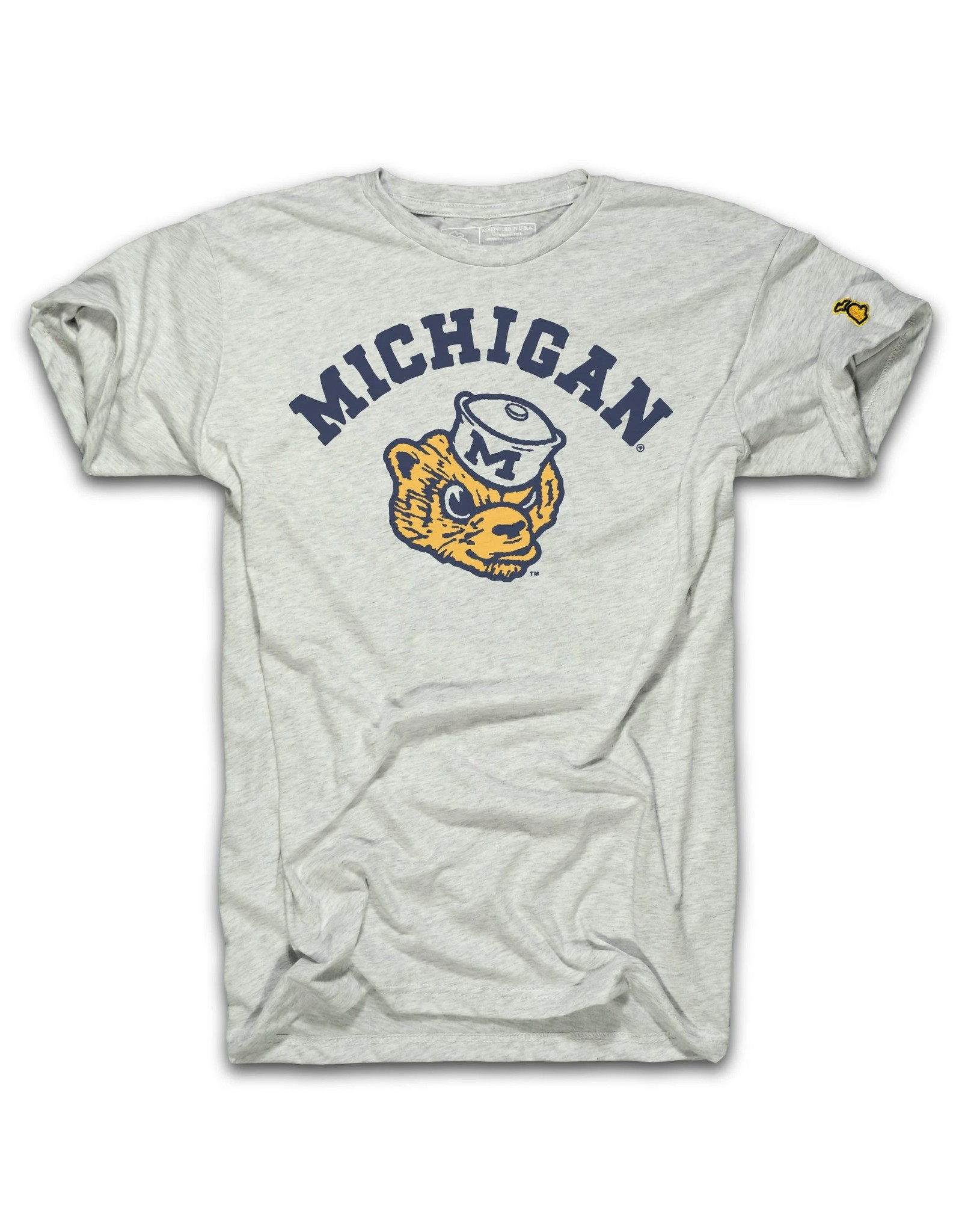 The Mitten State U of M Wolverbear Tee