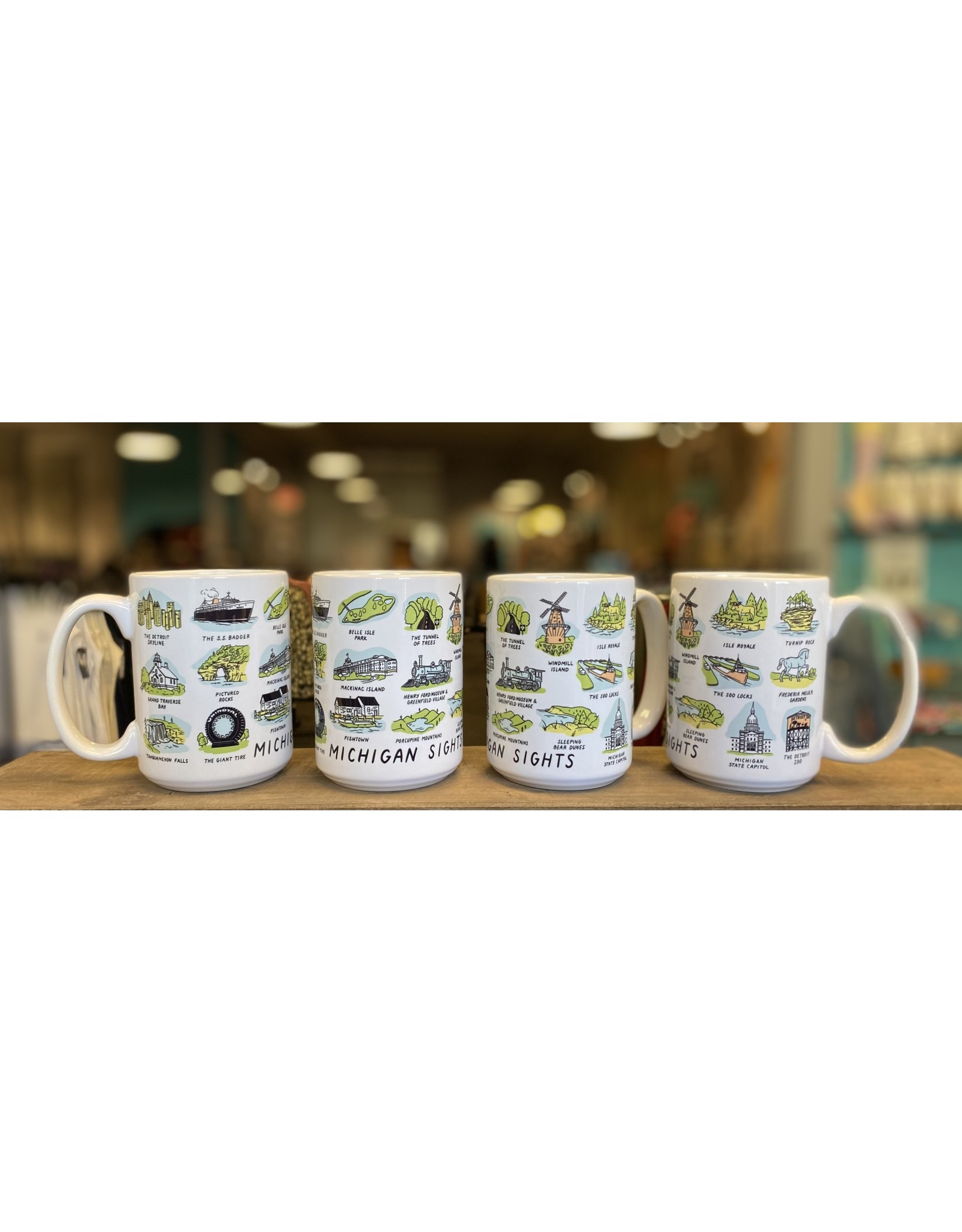 Relish Michigan Sights Mug