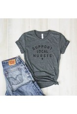 Relish Support Local Nurses Tee