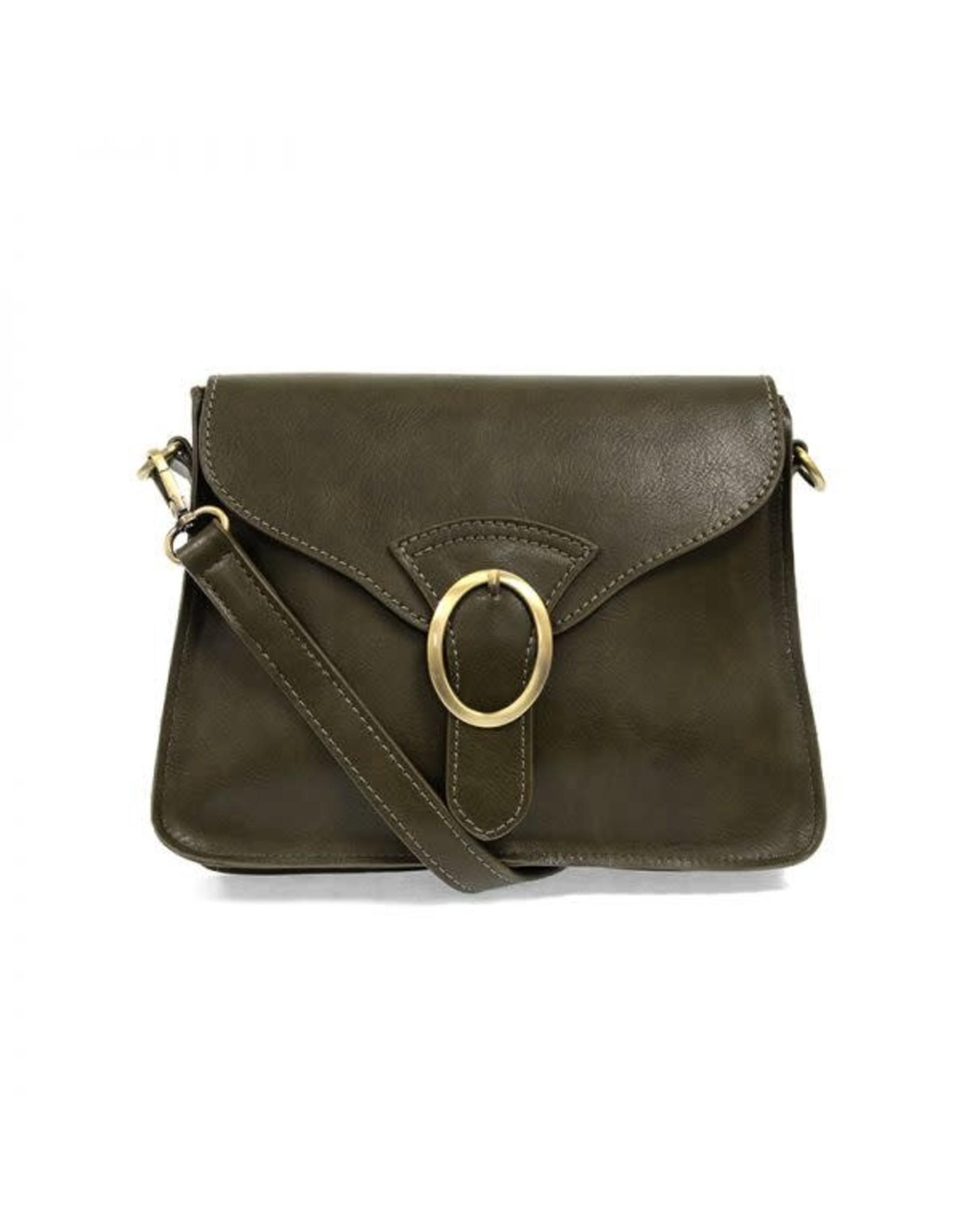 Joy Susan Drea Convertible Buckle Handbag