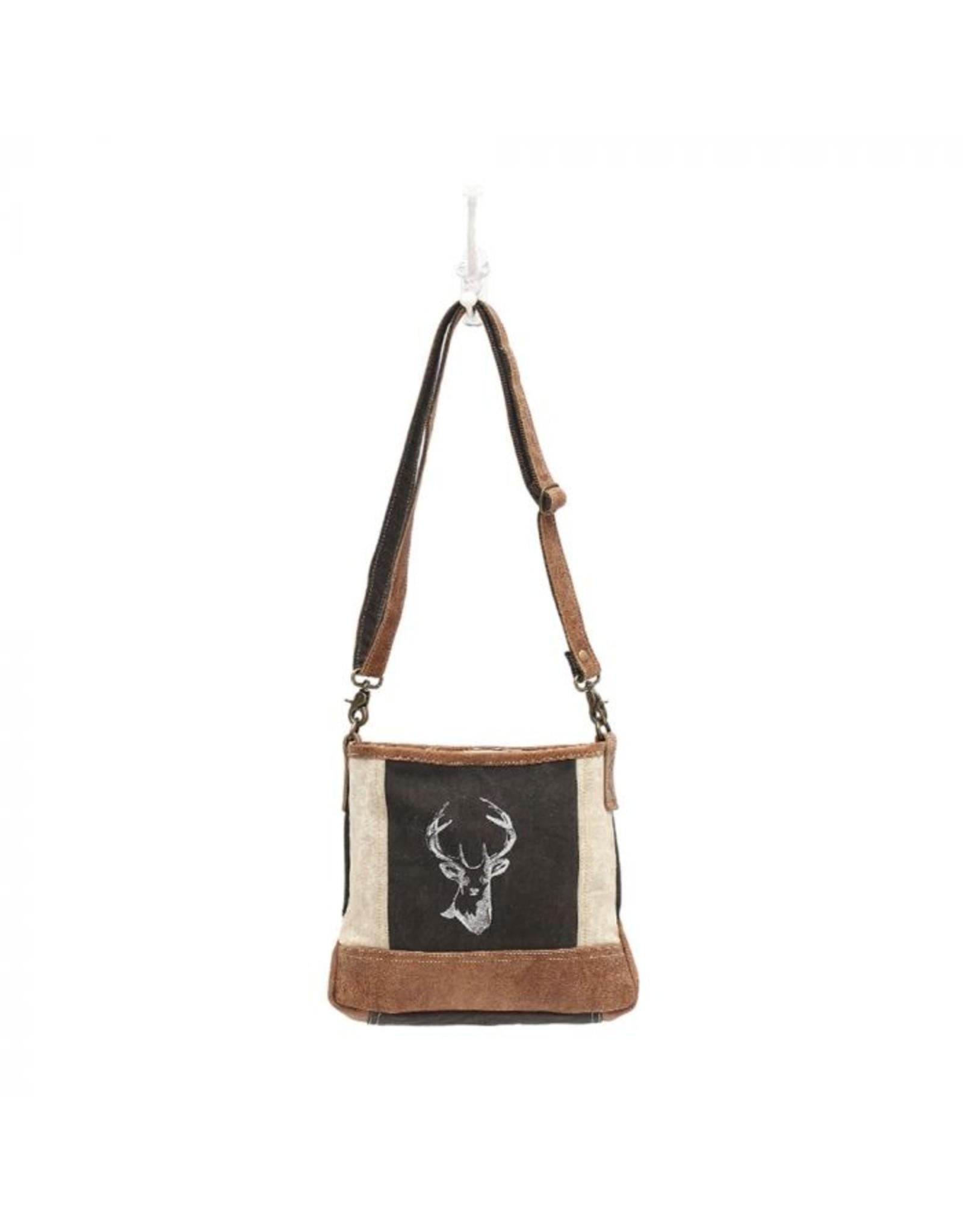 Myra Bag Deer Print Crossbody Bag