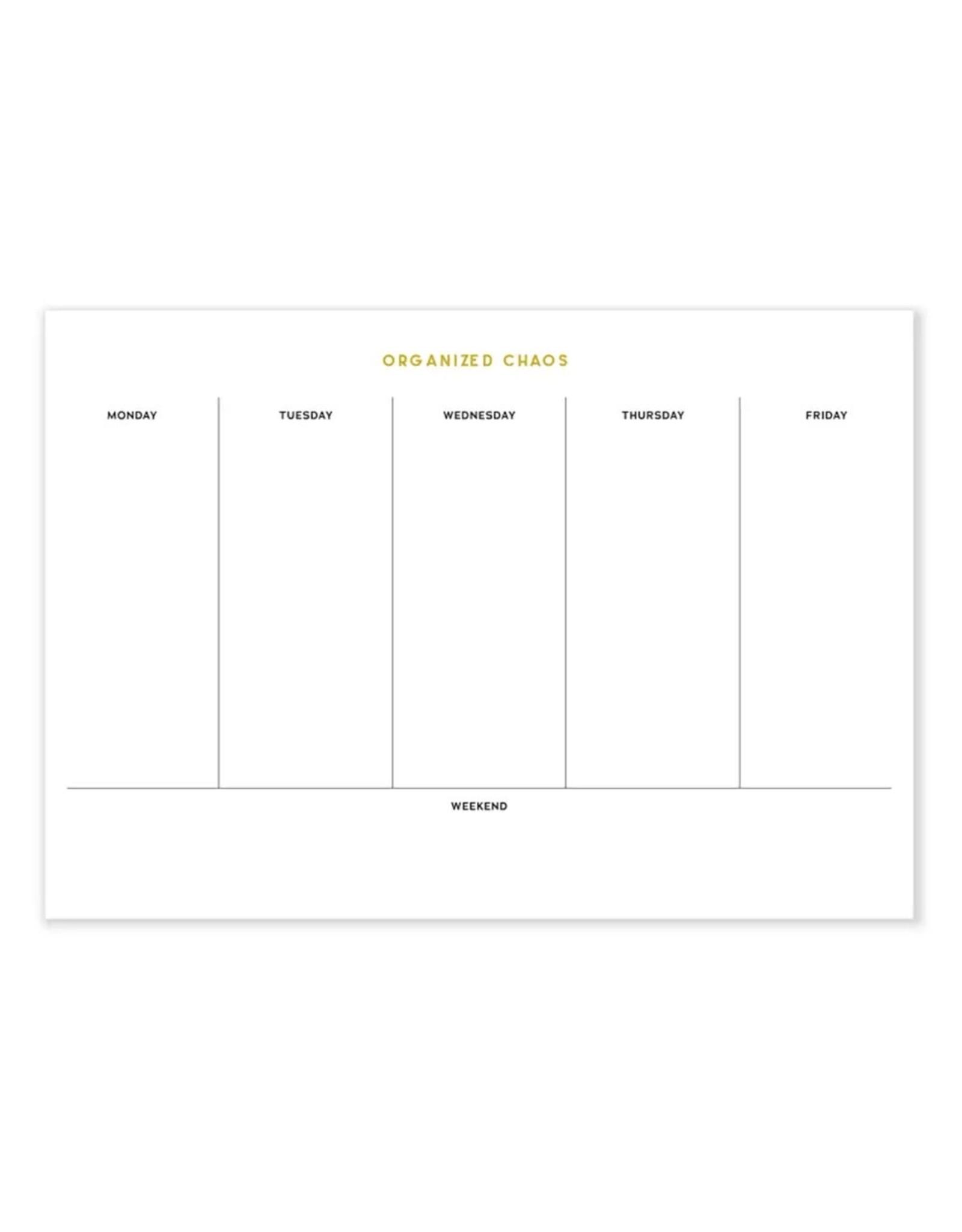 Sapling Press Gold Foil Desk Pad