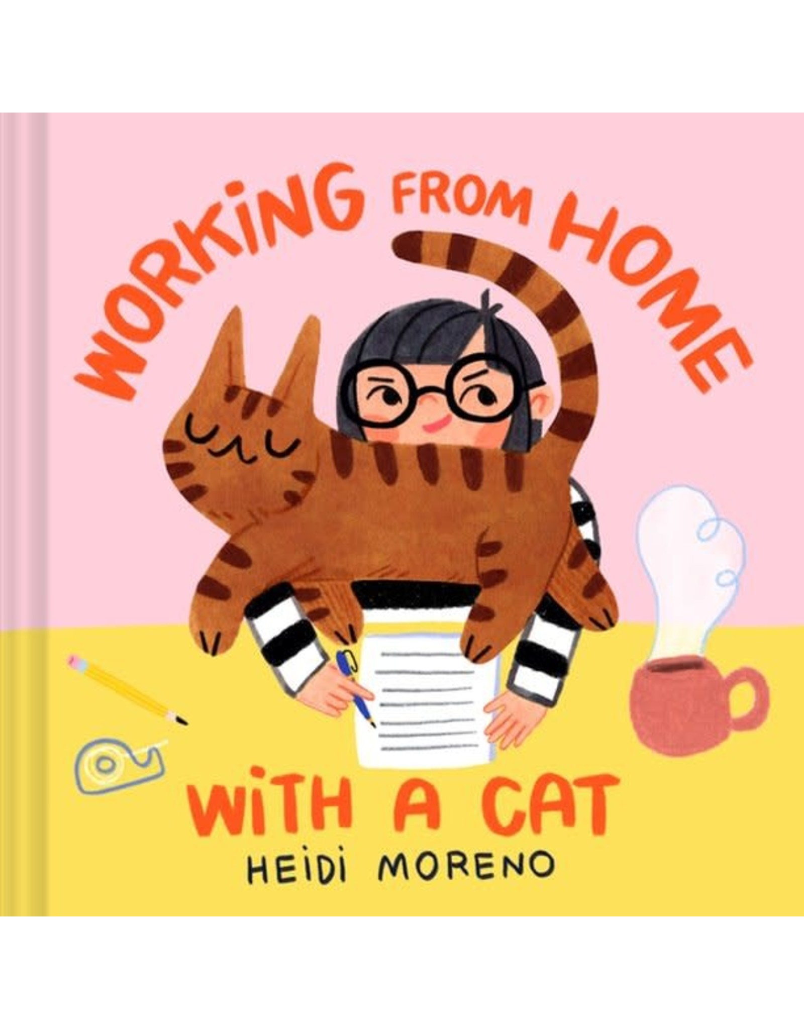 Chronicle Books Working from Home with a Cat