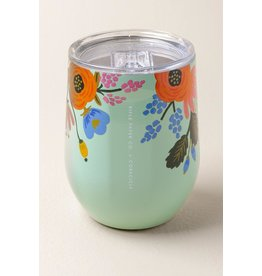 Corkcicle Rifle Paper Co. Stemless Mint Floral