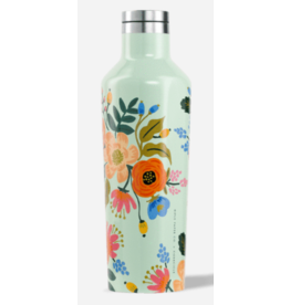 Corkcicle Rifle Paper Co. Canteen Mint Floral