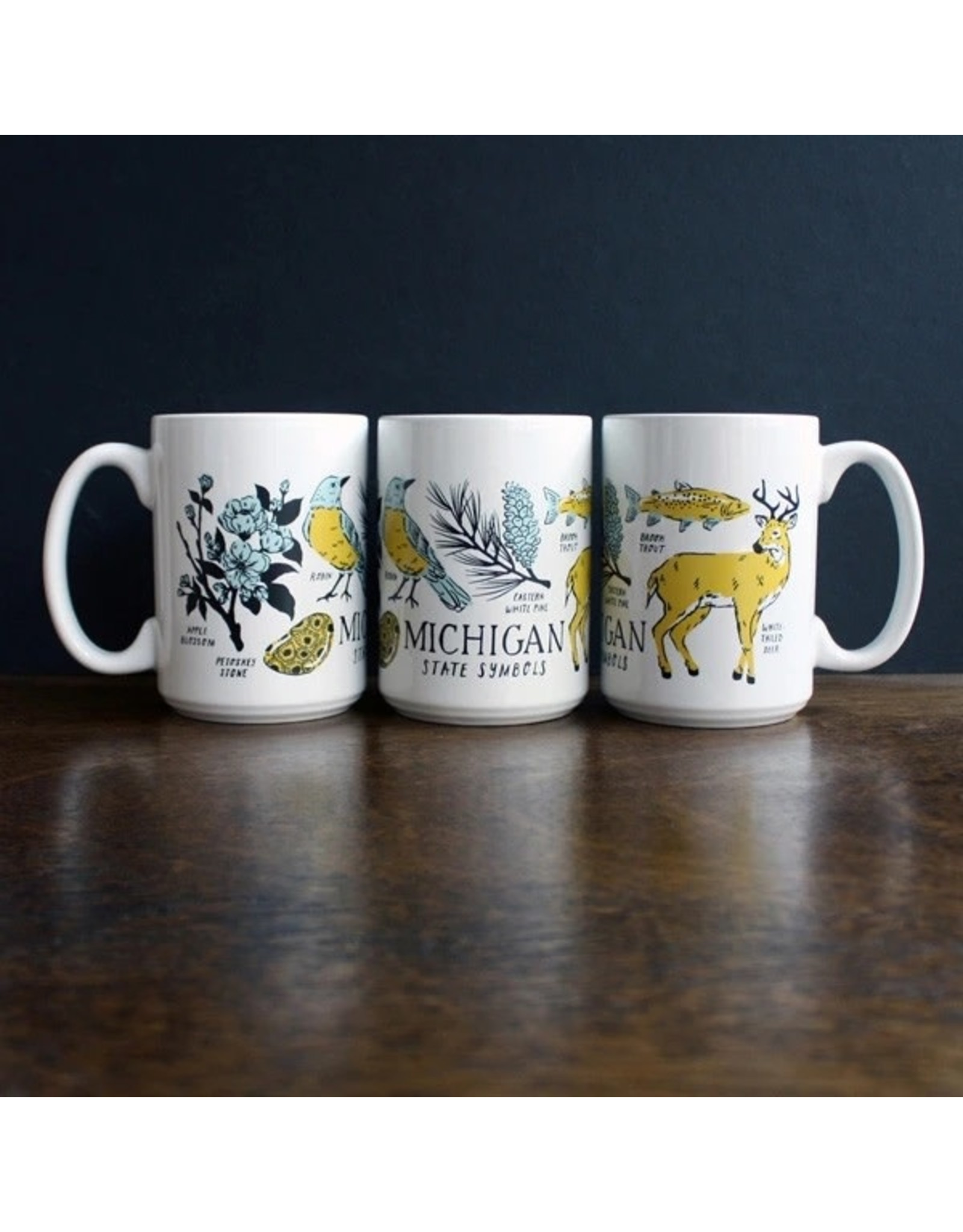 City Bird Michigan State Symbols Mug
