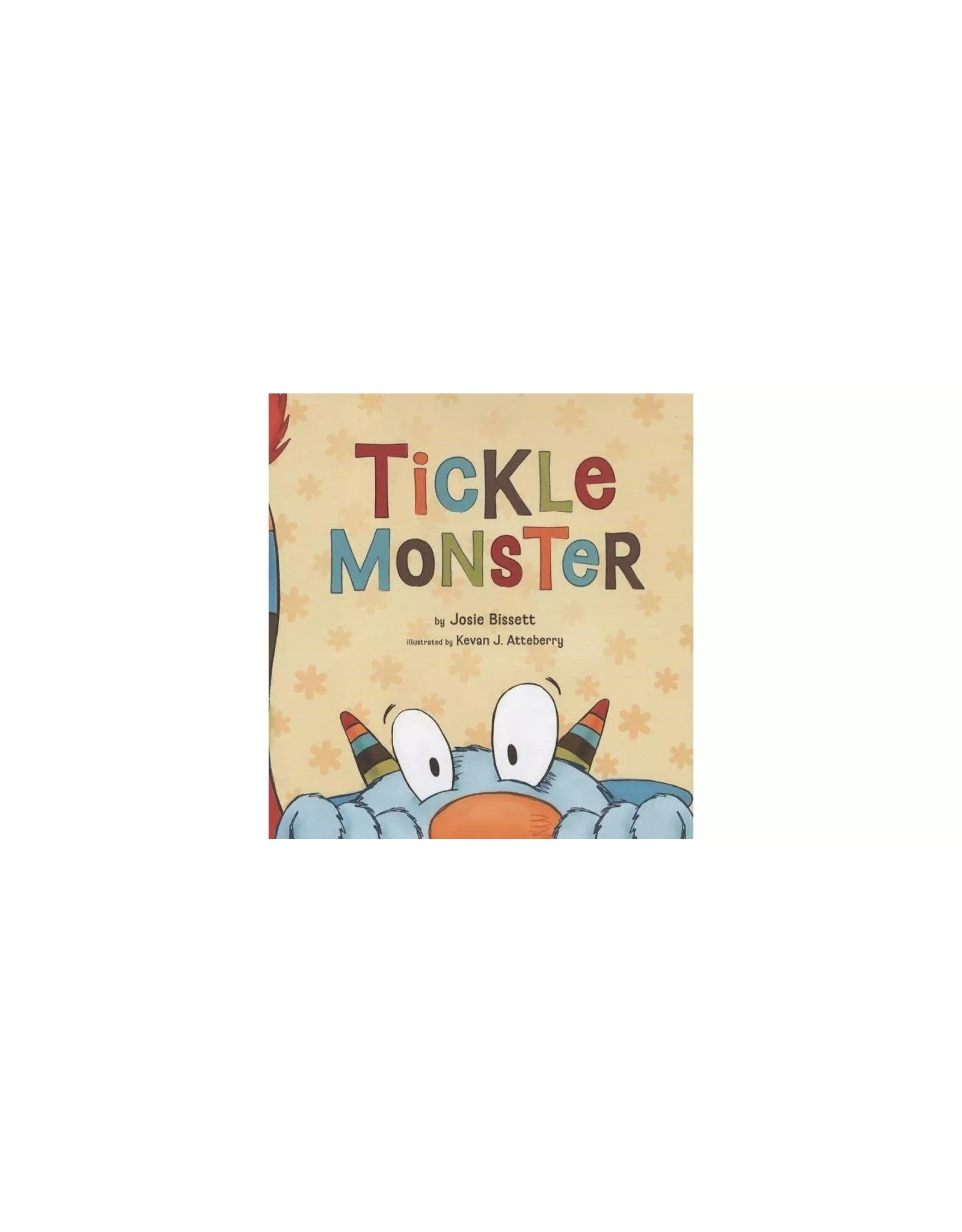 Compendium Tickle Monster Hardcover Book