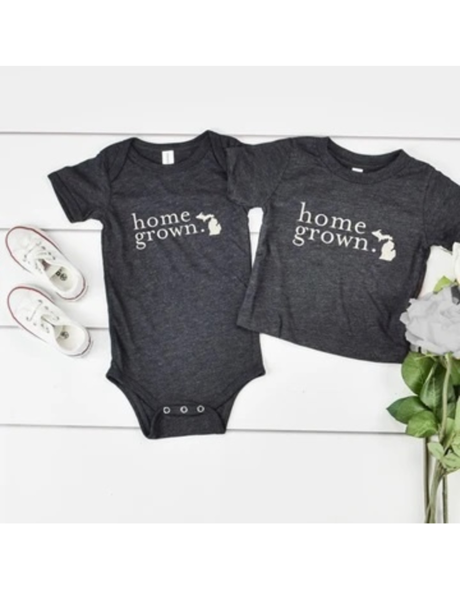 Relish Michigan Home Grown Baby Onesie
