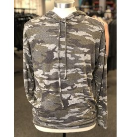 Coin1804 Camo Cozy Pullover Hoodie