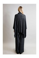 Coin1804 Cozy Built In Gaiter Pocket Poncho