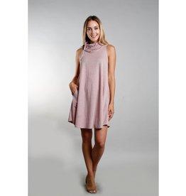 Coin1804 Funnel Neck Pocket Dress