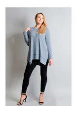 Coin1804 Cozy L/S Pleat Back Tunic
