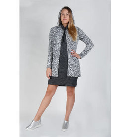 Coin1804 COZY ONE BUTTON HOODIE POCKET CARDIGAN