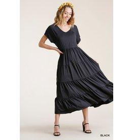 Umgee Tiered Maxi Dress