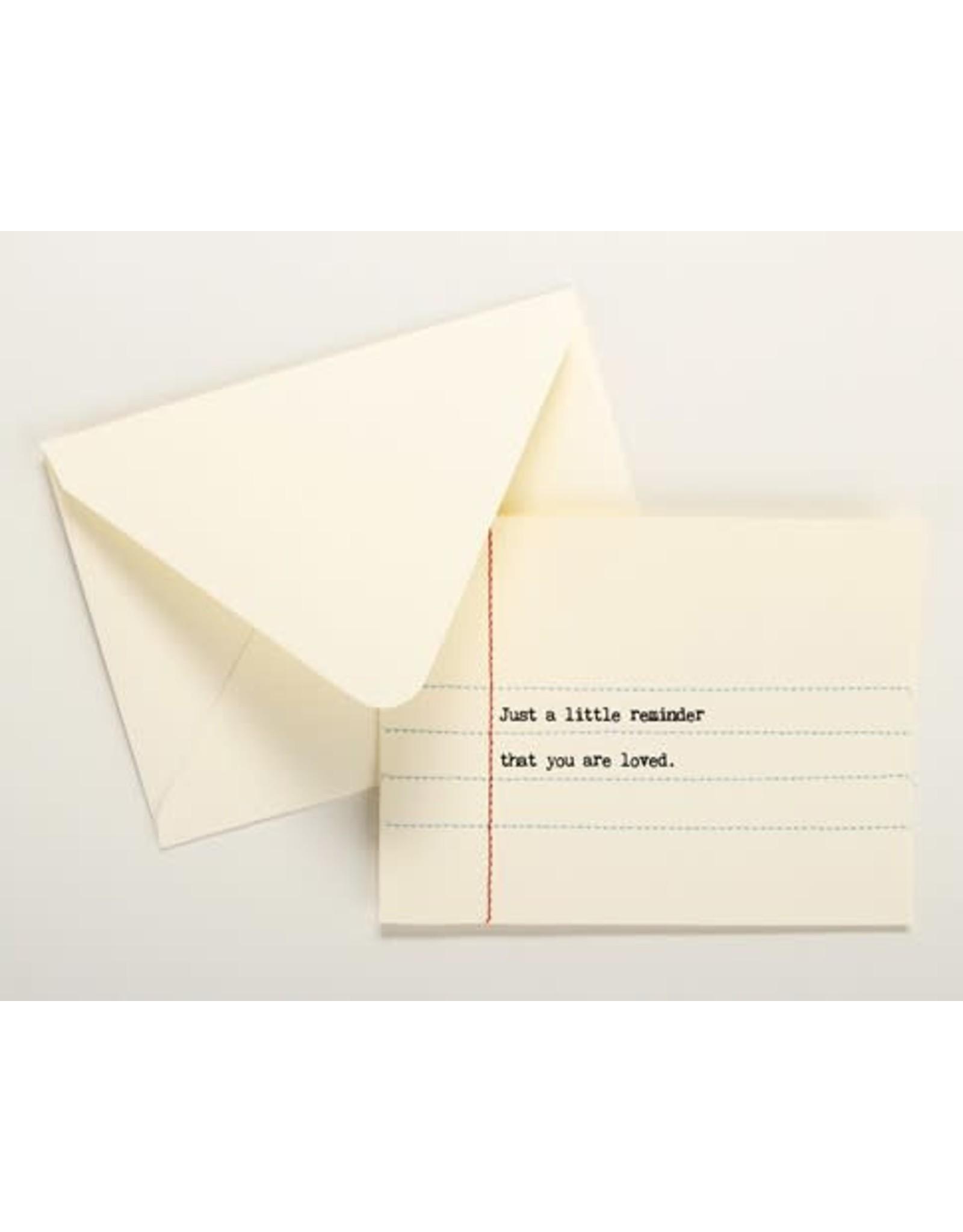 Relish Hand Sewn Card