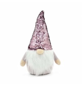 Relish Pink Sequin Gnome
