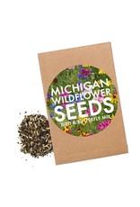 City Bird MI Wildflower Bird & Butterfly Seed Packet