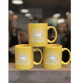City Bird Good Morning Michigan Mug