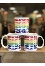 City Bird Michigan Rainbow Mug