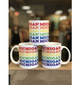 City Bird Michigan Rainbow Mug