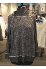 Paper Crane Dolman Sleeve Hoodie Pullover