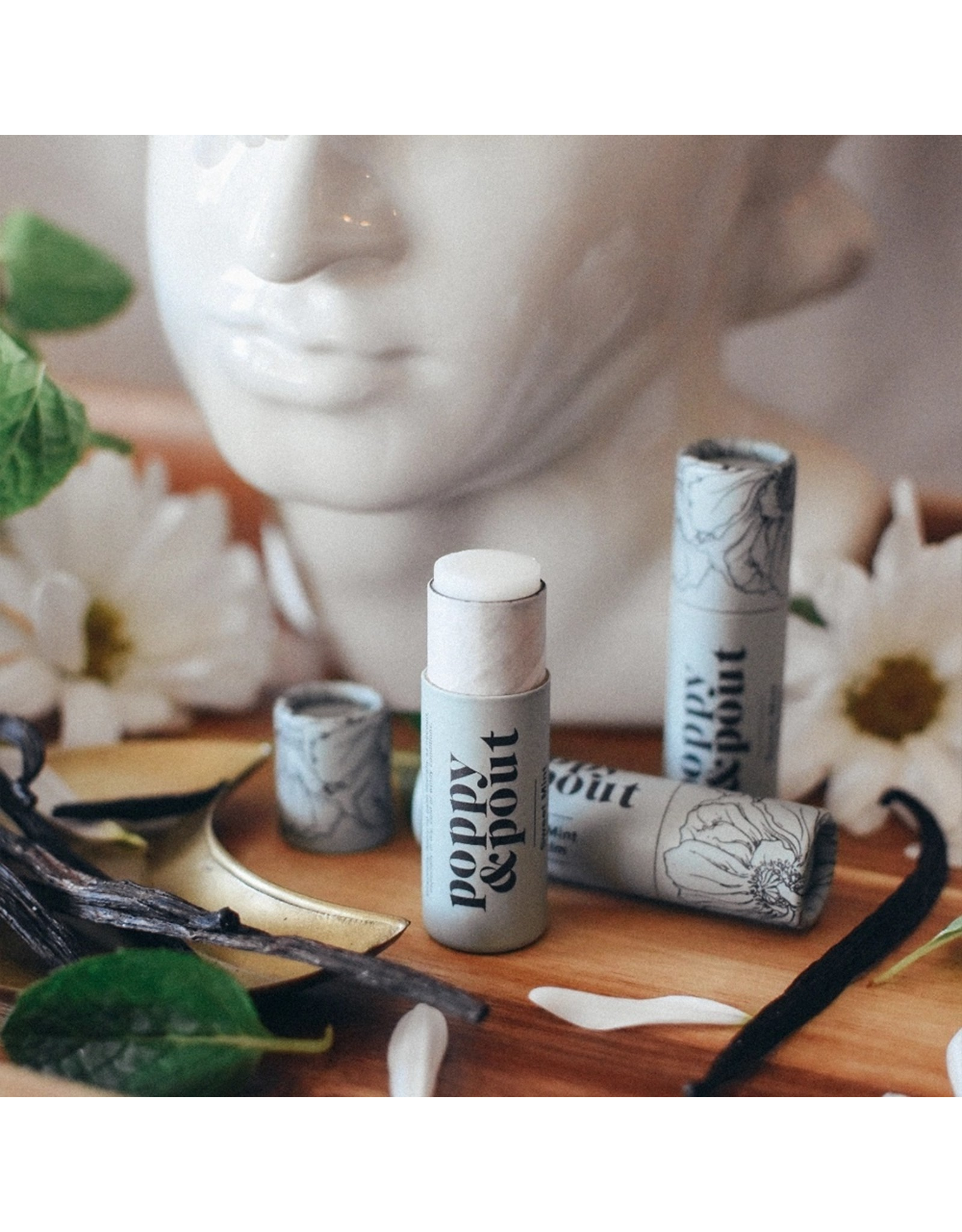 poppy & pout Flower Power Lip Balm