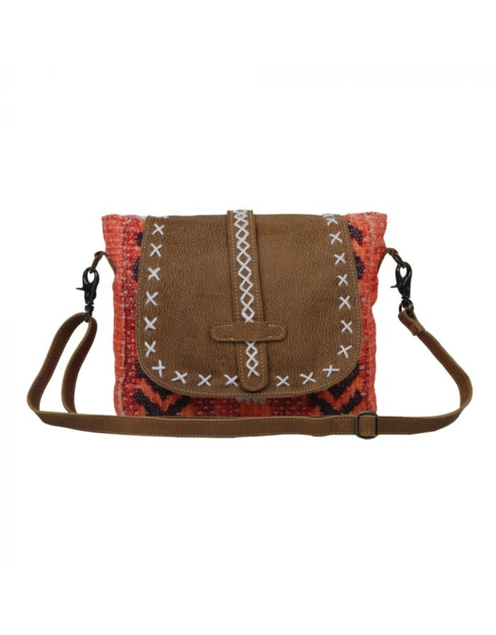 Myra Bag Poppin' Pink Shoulder Bag