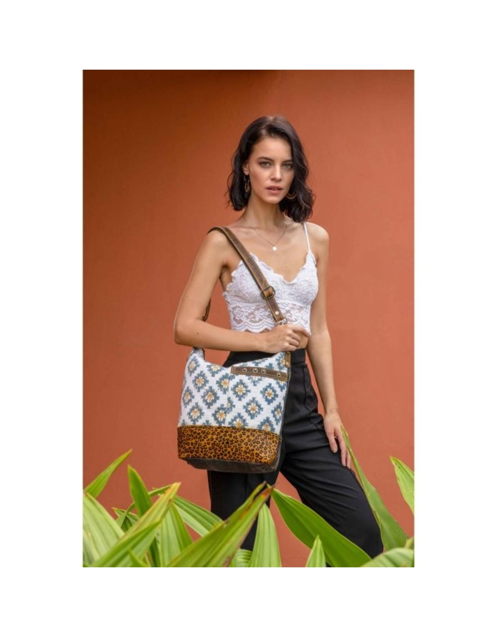 Myra Bag Blue Sapphire Shoulder Bag
