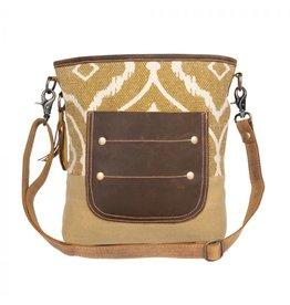 Myra Bag Arty Canvas Shoulder Bag