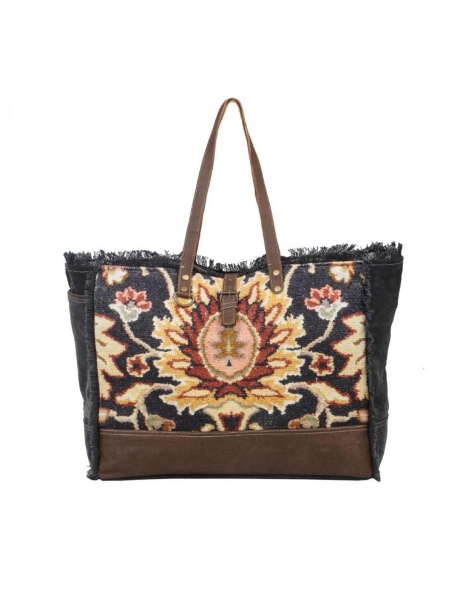 Myra Bag Black Fern Weekender Bag