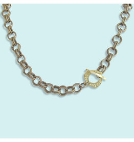 Ornamental Things Double Loop Chain Necklace